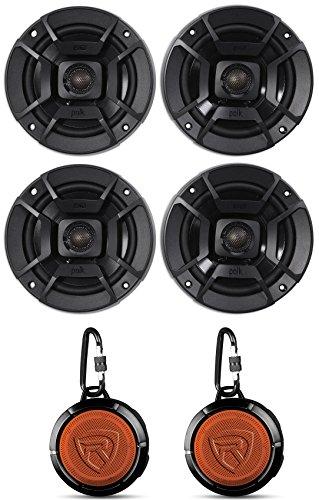 (4) Polk Audio DB522 5.25' 600w Car Audio Marine/ATV/Motorcycle/Boat Speakers
