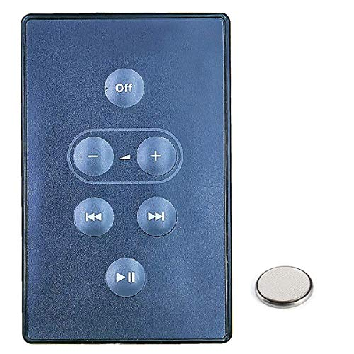 Replacement Remote for Bose SoundDock Digital Music System Remote Control Controller White