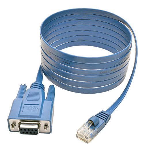 TRIPP LITE RJ45 to DB9F Cisco Serial Console Port Rollover Cable (P430-006),Blue