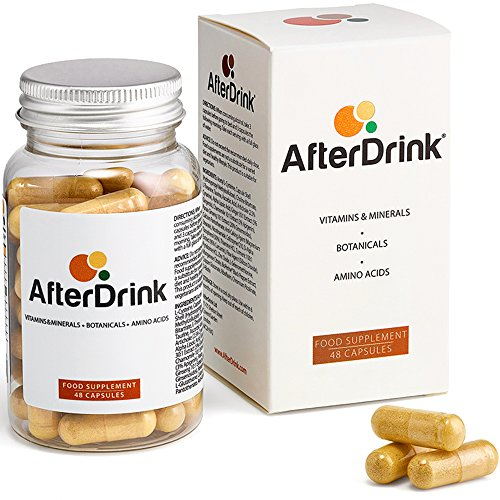 AfterDrink : Milk Thistle, Ginger & More - Made in The USA