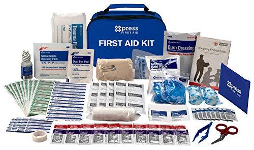 Xpress First Aid 137 Piece First Aid Kit, ANSI/OSHA Compliant