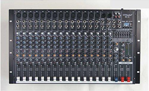 GTD-Audio 16 Channel 4000Watt Professional Powered Mixer Amplifier (1000 Watt RMS) SK-16