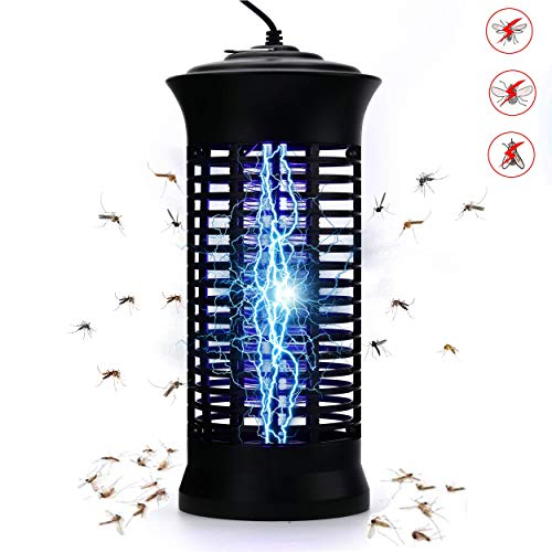 Dekugaa Bug Zapper, Powerful Insect Killer,Electric Mosquito Zappers, Mosquito lamp, Light-Emitting Flying Insect Trap with Electronic UV Lamp for for Indoor