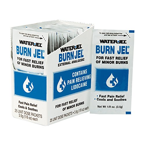 Water-Jel 100U-6 Technologies 3.5 Gram Unit Dose Foil Pack Burn Jel Topical Burn Gel (6 Per Box) (1/BX)