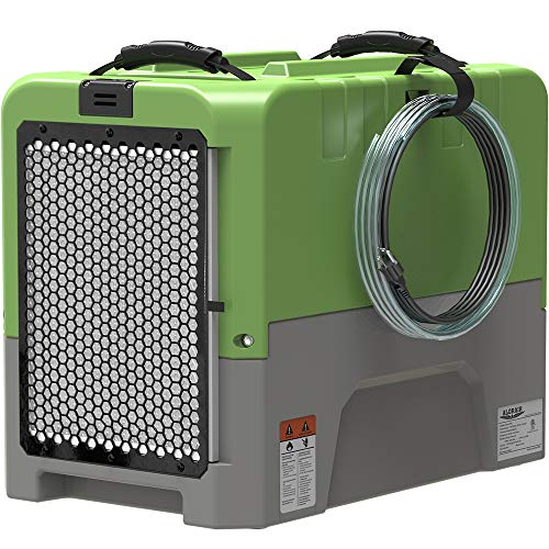 ALORAIR LGR Dehumidifier with Built-in Pump, for Water Damage Restoration, 5 Years Warranty, cETL Listed, Up to 180 PPD (Saturation), 85ppd at AHAM, Flood Repair