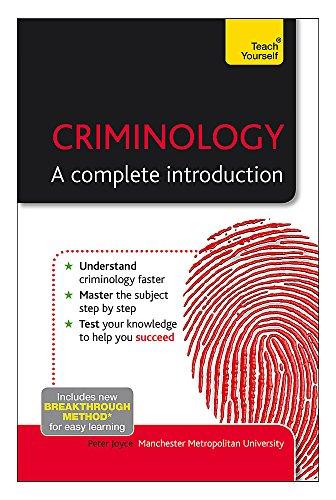 Criminology: The Essentials (Teach Yourself)