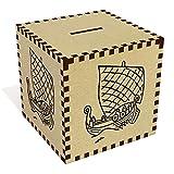 Azeeda Large 'Viking Ship' Money Box / Piggy Bank (MB00044432)