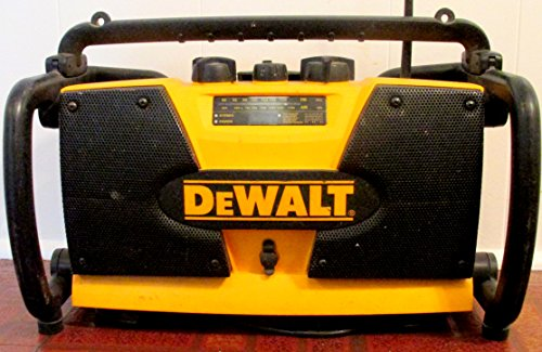 DEWALT DW911 Combination Job Site Radio and 7.2-Volt-18-Volt Battery Charger
