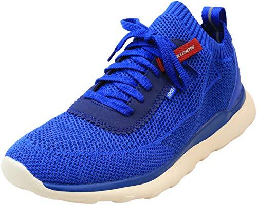 Skechers Men's Bulger-Nickson Blue Low Top Mesh Sneaker - 11M