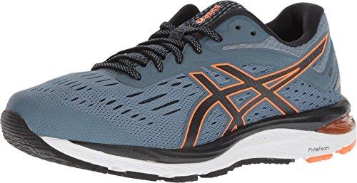 ASICS Men's Gel-Cumulus 20 Running Shoes, 12, IRONCLAD/Black