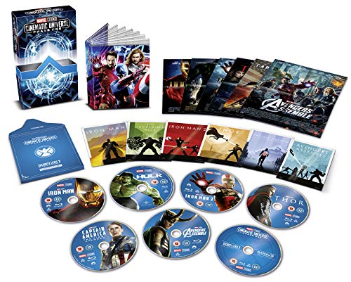 Marvel Studios Cinematic Collection Phase 1 [Blu-ray]