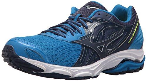 Mizuno Men's Wave Inspire 14 Running Shoe, Directoire Blue/Blue Depths, 8