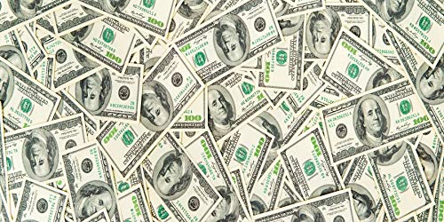 AOFOTO 10x5ft Scattered US Dollar Banknotes Photography Background Cloth Abstract Cash Currency Finance Money Kids Newborn Adults Family Portrait Backdrops Banner Vinyl Wallpaper Photo Studio Props