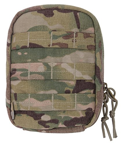 Rothco MOLLE Tactical Trauma & First Aid Kit Pouch, Multicam