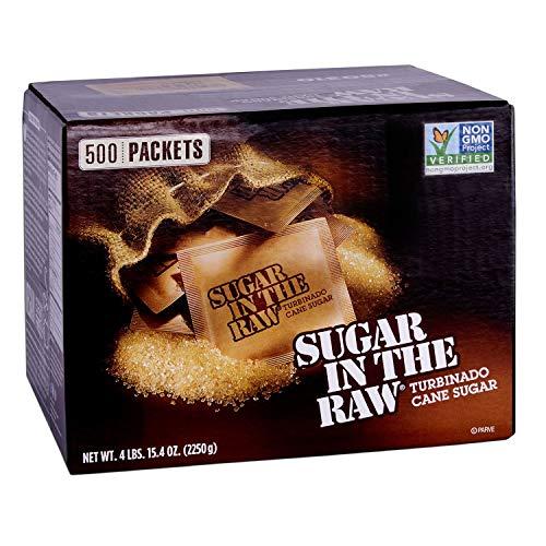 Sugar in the Raw/Raw Sugar Natural Cane Turbinado from Hawaii/Box of 1000 packets