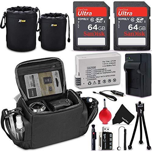Professional Camera Accessories Bundle for Canon Rebel T5i T4i T3i T2i EOS 700D 650D 600D 550D DSLR (Digital SLR) Cameras