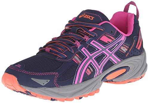 ASICS Women's Gel-Venture 5-W, Indigo Blue/Pink Glow/Living Coral, 10 M US