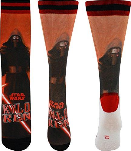 Star Wars Kylo Ren Photoreal Crew Socks