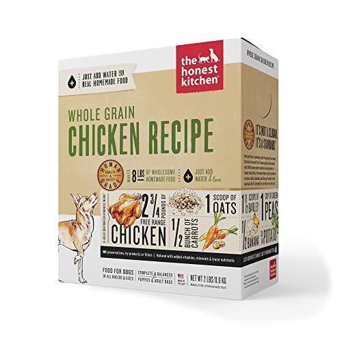 The Honest Kitchen Human Grade Dehydrated Organic Grain Chicken Dog Food 10 lb - Revel