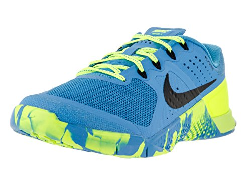 Nike Womens Metcon 2 Low Top Lace Up Fashion Sneakers, Blue, Size 6.5