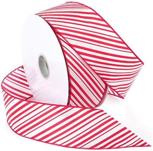 Morex Ribbon 7410.60/50-609 garden, 2.5-In x 50-Yd, Red/White