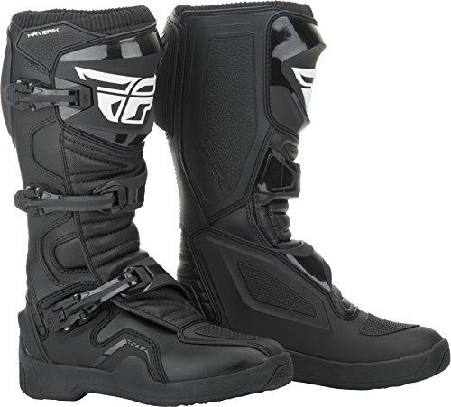 FLY Racing Maverik Boots for Motocross, Off-road, and ATV riding (SZ 09,BLACK)