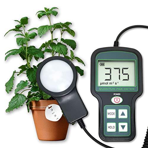 Quantum PAR Meter - High Precision, Grow Light meter, Indoor Plants meter, Good for Growing droseras and All Indoor Plants,Rechargeable