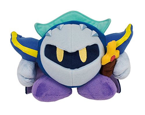 Sanei Kirby Adventure Series All Star Collection Meta Knight 5.5' Plush