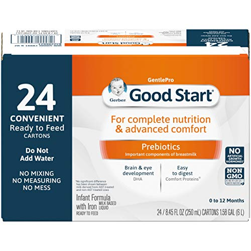 Gerber Good Start Stage-1 Soy Non-GMO Ready to Feed Infant Formula