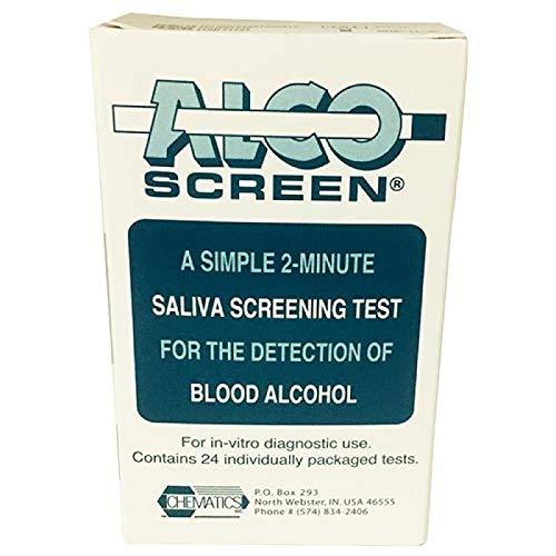 Alco-Screen 2 Minute Saliva Alcohol Test (24 Kits) by Alco-Screen