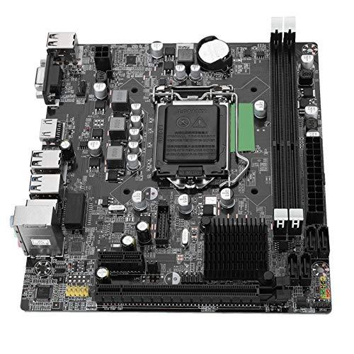 Tosuny Desktop Computer Motherboard LGA 1155 USB3.0 SATA Mainboard for Intel B75