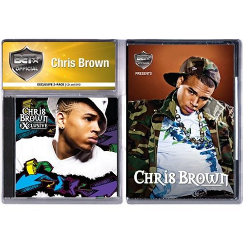 Chris Brown EXCLUSIVE CD, and RARE OUT OF PRINT BET PRESENTS DVD.