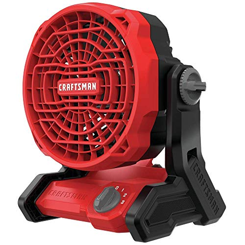 CRAFTSMAN 20V MAX Cordless Fan, Tool Only (CMCE001B)