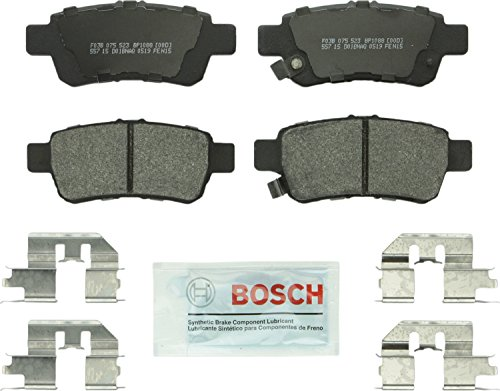 Bosch BP1088 QuietCast Premium Semi-Metallic Disc Brake Pad Set For: Honda Odyssey, Rear