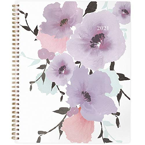 2021 Weekly & Monthly Planner by Cambridge, 8-1/2' x 11', Large, Mina (1134-905-21)