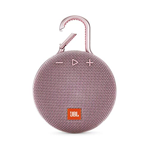 JBL CLIP 3 - Waterproof Portable Bluetooth Speaker - Pink