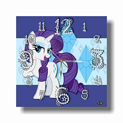 ART TIME PRODUCTION My Little Pony 11'' Handmade Wall Clock - Get Unique décor for Home or Office – Best Gift Ideas for Kids, Friends, Parents and Your Soul Mates