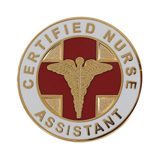 Forge Certified Nurse Assistant CNA Lapel Pin- 25 Pack