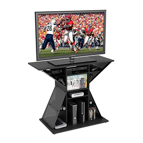 TV Video Game Stand, Gaming Storage Rack Hub Console for 42', Xbox, PS3, PS4. Perfect Size For Any Living Room Or Bedroom In Your Home.