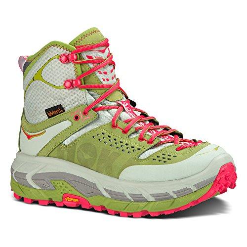 HOKA ONE ONE Tor Ultra Hi WP Running Shoe - Women's Fog Green/Olive 10