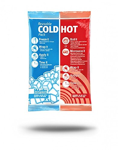 Mueller Reusable Cold-Hot Pack, White, 6 Inch X 9 Inch