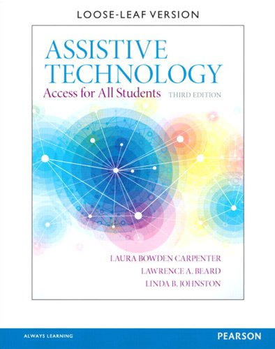 Assistive Technology: Access for All Students (2-downloads)