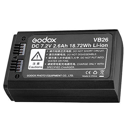 Godox V1 Battery VB26 Li-ion Battery for Godox V1S V1N V1C V1F V1O V1 Flash
