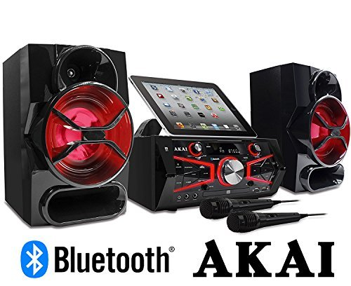 Akai KS5500-BT Karaoke Mini System 150 Watts CD&G with Lightning Effect Limited Edition