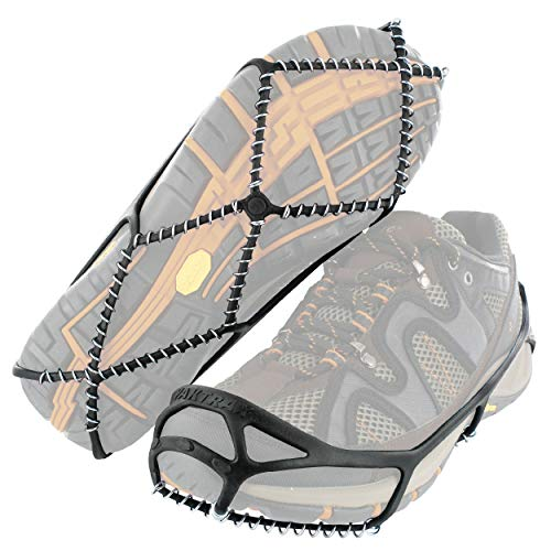 Yaktrax Walk Traction Cleats for Walking on Snow and Ice (1 Pair), Small