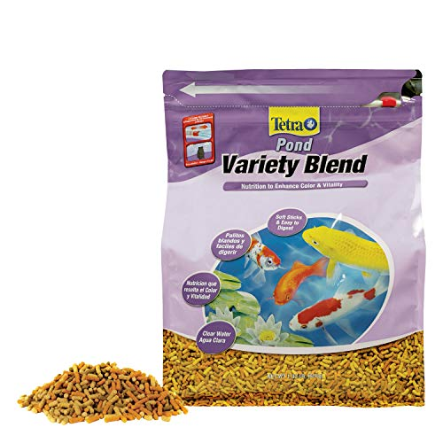 TetraPond Variety Blend 1.32 Pounds, Pond Fish Food, For Goldfish And Koi