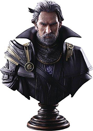 Square Enix Final Fantasy XV Kingsglaive: Regis Lucis Caelum Static Arts Bust