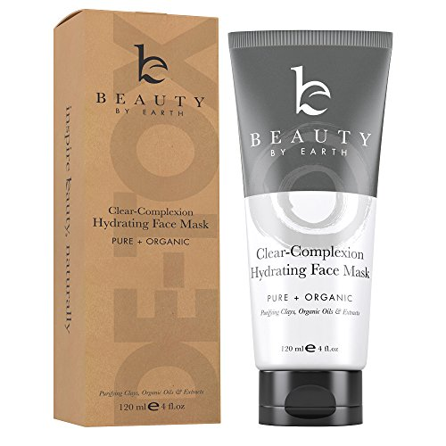 Hydrating Face Mask - Clay Mask for Face, Facial Mask Pore Cleaner & Pore Minimizer, Blackhead Mask Skin Care Products, Bentonite Clay Face Masks For Acne Treatment & Pore Cleanser Face Care, Mud Mask