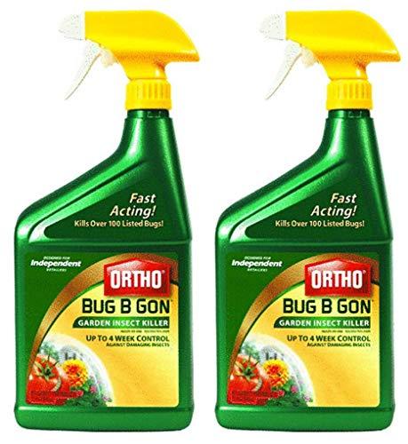 Ortho Scotts Company Bug B Gon Garden Insect Killer Trigger Spray, 32-Ounce