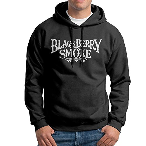 MEGGE Blackberry Smoke Men's Sweater Shirt Black M